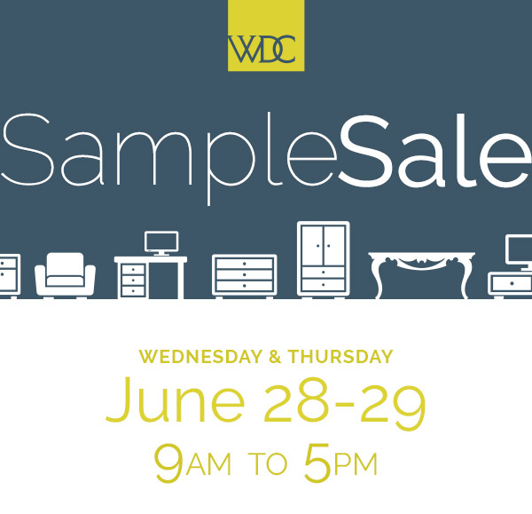 Multi-Showroom Sample Sale - Open To The Public