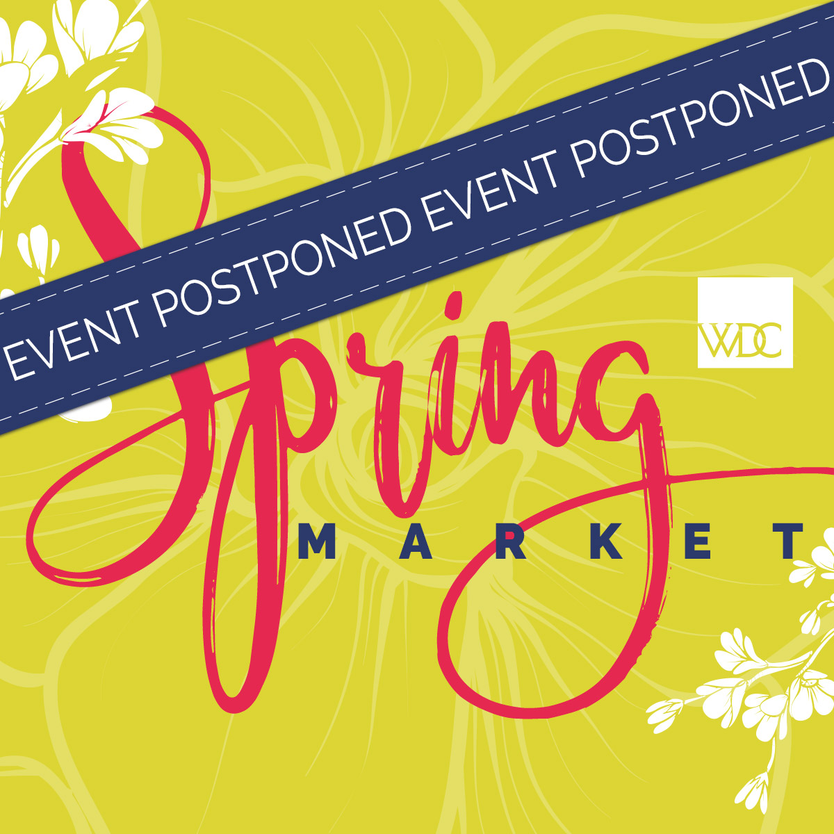 Spring Market 2020 at the Washington Design Center Postponed