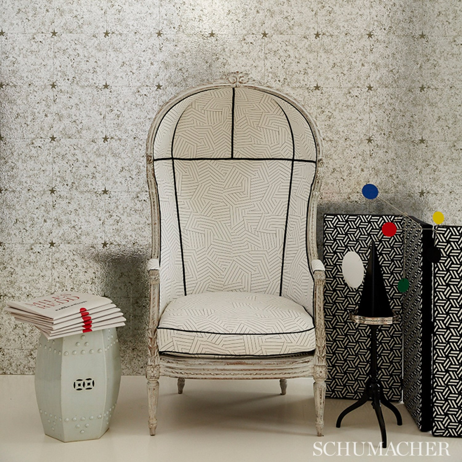 Schumacher Faux Finish Wallcovering