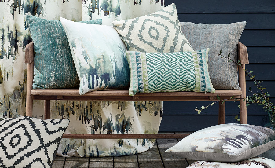 Norrland Cushions from ROMO
