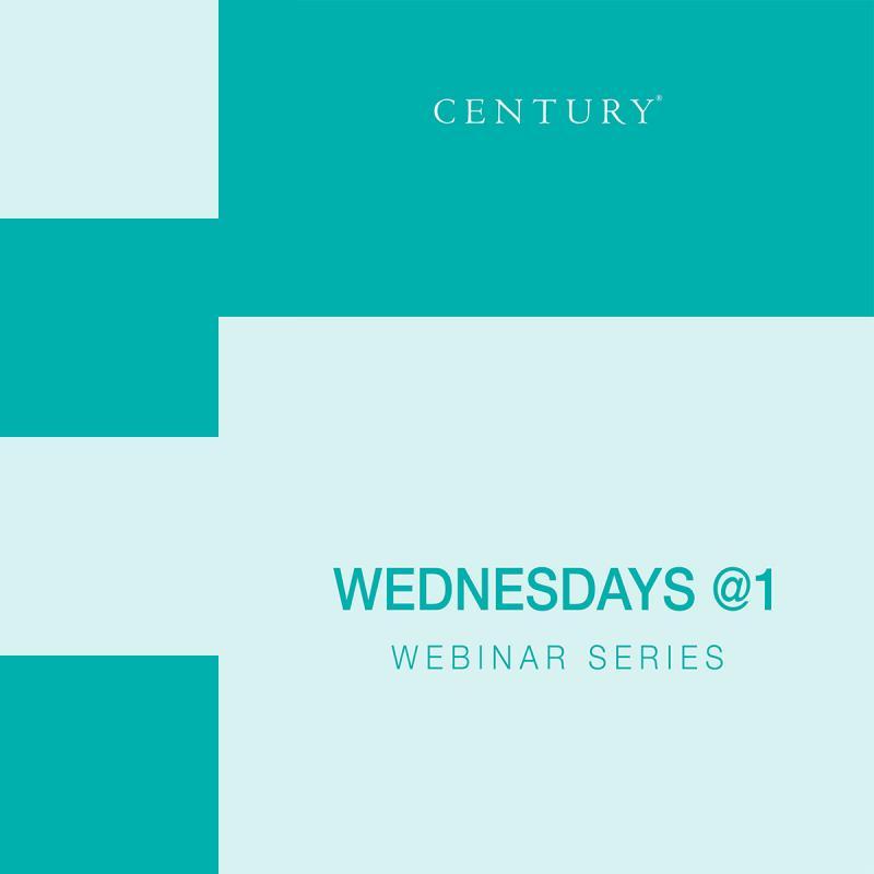 Wednesdays @ 1 Webinar Series